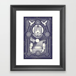 Visitor from the West Framed Art Print