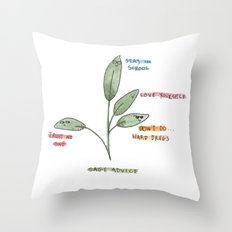 Sage Advice Throw Pillow