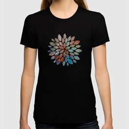 Colorful watercolor abstraction T-shirt