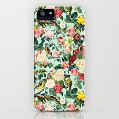 Floral and Birds III iPhone (5, 5s) Slim Case