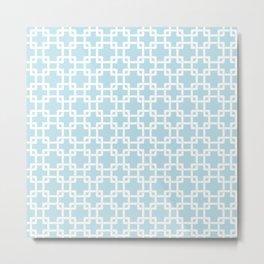 Plummer baby blue Metal Print
