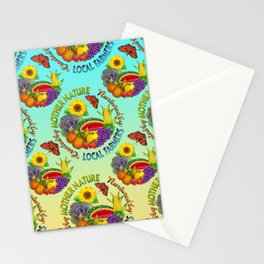 Mother Nature Local Farmer Stationery Cards