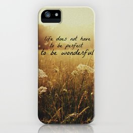 Grainy Love-w/text iPhone Case