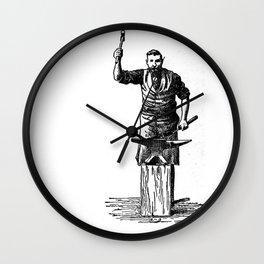 Blacksmith Wall Clock