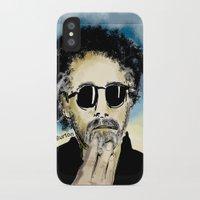 tim burton iPhone & iPod Cases featuring Tim Burton by Joanie L. Posner (jppozzy)
