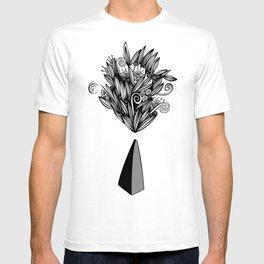 Flower Stone landscape T-shirt