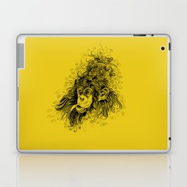 hairstyle of the rich and famous Laptop & iPad Skin