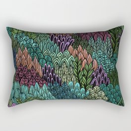 July Leaves Rectangular Pillow