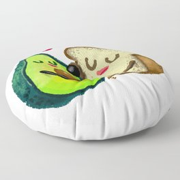 Avocado Toast Floor Pillow