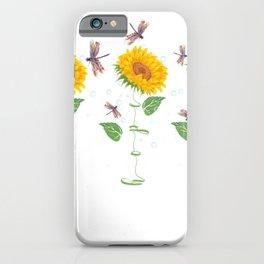 Huntsville City Sunflower hope love Gifts For Men Women iPhone Case