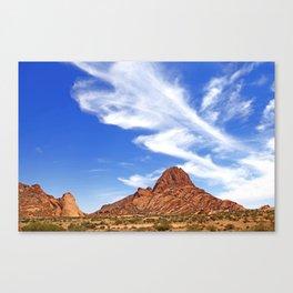 Landscape near Spitzkoppe, Namibia Canvas Print