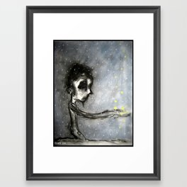 Soot And Stars Framed Art Print