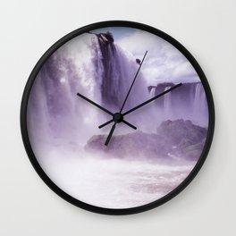 Travel Series: Iguazu Falls Wall Clock