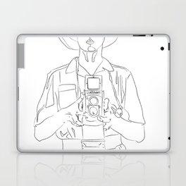 Vivian Maier Laptop & iPad Skin