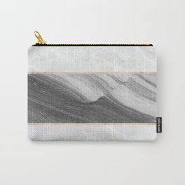 Marble Abstract Wave Carry-All Pouch