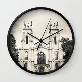 Gothic Church Wall Clock