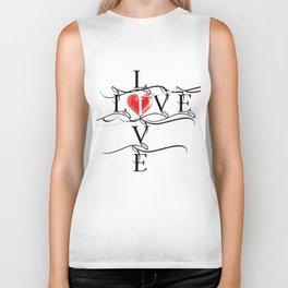 Love Live Biker Tank