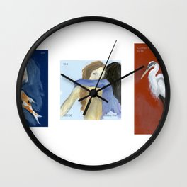 Oil set 1, Admiralty Schoolboy Crushed Wall Clock