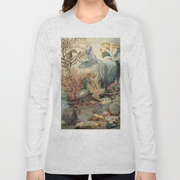 Ocean Life by James M Sommerville 1859 - Reproduction from original under CC0 Long Sleeve T-shirt