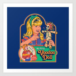 My First Voodoo Doll Art Print
