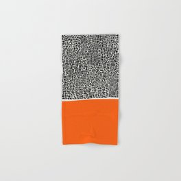 City Sunset Abstract Hand & Bath Towel