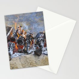 Spartan Fire Stationery Cards
