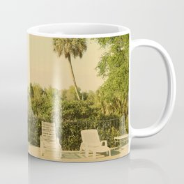Lolita's Poolside Vacation - Beach Art Coffee Mug