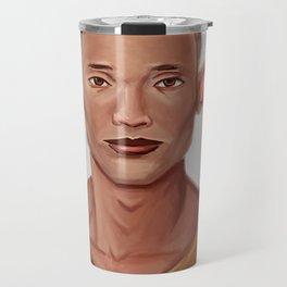 Chad, the Karate Elf Travel Mug