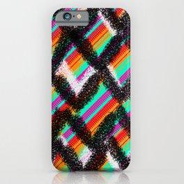 ondulation colorée 4 iPhone Case