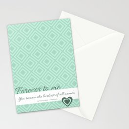 Forever to me... Stationery Cards