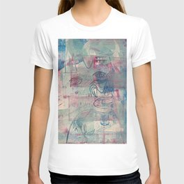 Guernica part, the bull and the screaming woman ( T-shirt