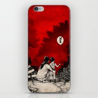 godzilla iPhone & iPod Skins featuring Godzilla.  by Sinpiggyhead