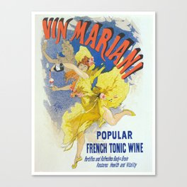 Vintage poster - French Wine Canvas Print