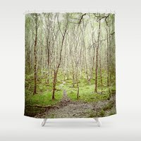 irish Shower Curtains featuring Irish Forest  by MojoPhoto59