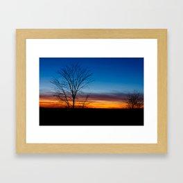 Caledon Sunset Framed Art Print