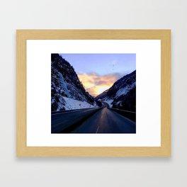 Passin through Framed Art Print