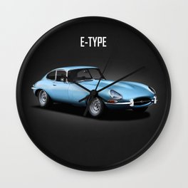 The 66 E-Type Wall Clock