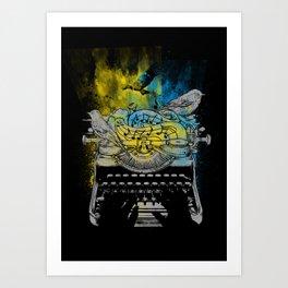 Write Me A Melody Art Print