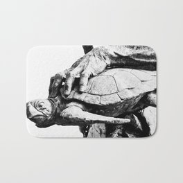 Hand Turtle Bath Mat
