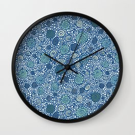 Pebbles and Shells Wall Clock