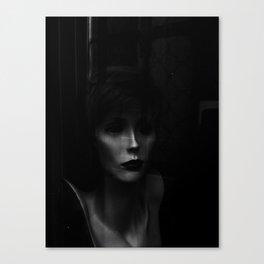 Lady Sadness Canvas Print