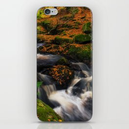 Cloghleagh River in Wicklow Mountains - Ireland (RR249) iPhone Skin