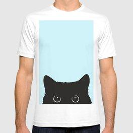 Black cat I T-shirt