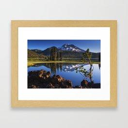 Sparks Lake Sunrise Framed Art Print