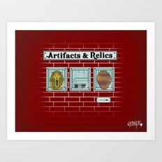Artifacts & Relics Art Print