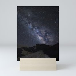 Milkyway at the mountains. Scorpius and Sagitarius Mini Art Print