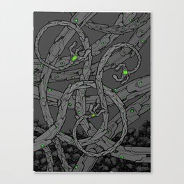 Tentacles I Canvas Print