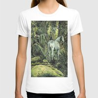 pixies T-shirts featuring Unicorn & Pixies by Mike Lowe