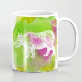 Color Spot Safari Rhinoceros Coffee Mug