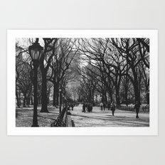 Oh, Central Park Art Print